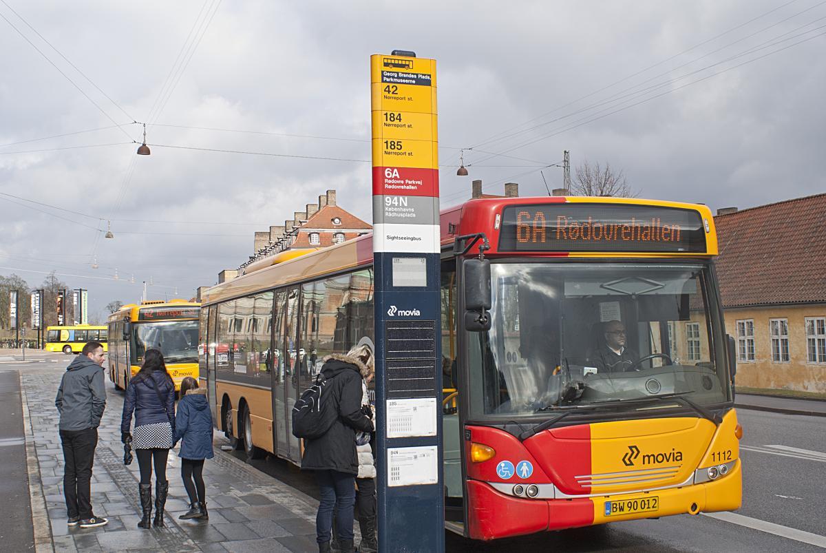 PicoSign Bus Stop ePaper Information System Copenhagen