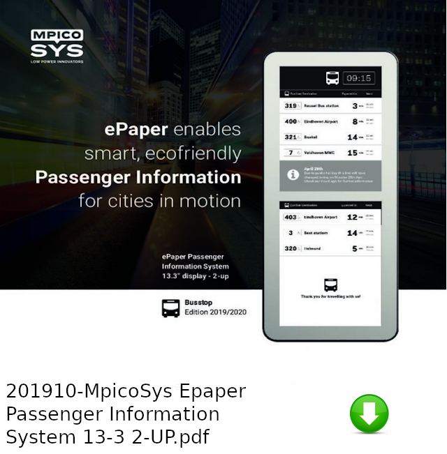 201910-MpicoSys Epaper Passenger Information System 13-3 2-UP